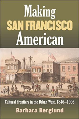 """book cover to """"Making San Francisco American"""", by Barbara Berglund"""