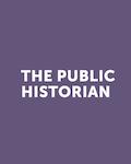 cover of The Public Historian